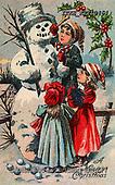 Isabella, CHRISTMAS SANTA, SNOWMAN, WEIHNACHTSMÄNNER, SCHNEEMÄNNER, PAPÁ NOEL, MUÑECOS DE NIEVE, nostalgic, paintings+++++,ITKEK2210464,#X#