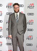 Seth Rogen at the AFI Fest premiere for &quot;The Disaster Artist&quot; at the TCL Chinese Theatre. Los Angeles, USA 12 November  2017<br /> Picture: Paul Smith/Featureflash/SilverHub 0208 004 5359 sales@silverhubmedia.com