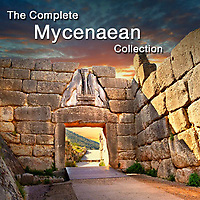 Pictures of Mycenaean Historical Places & Mycenaean Artefacts & Art -