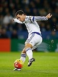 Eden Hazard of Chelsea in action - English Premier League - Leicester City vs Chelsea - King Power Stadium - Leicester - England - 14th December 2015 - Picture Simon Bellis/Sportimage