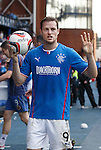 Jon Daly after the match with the ball and his four goals
