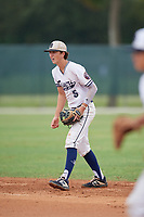 Shane Reynolds (5) during the WWBA World Championship at the Roger Dean Complex on October 11, 2019 in Jupiter, Florida.  Shane Reynolds attends Prestonwood Christian Academy in Plano, TX and is Uncommitted.  (Mike Janes/Four Seam Images)