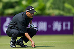 Simon Yam during the Mission Hills Start Trophy at the Mission Hills Golf Resort on October 31, 2010 in Haikou, China. The Mission Hills Star Trophy is Asia's leading leisure liflestyle event and features Hollywood celebrities and international golf stars. Photo by Victor Fraile