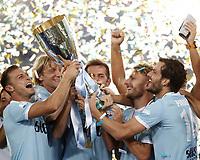 20170813 ROMA-CALCIO:  LA LAZIO VINCE LA SUPER TIM CUP