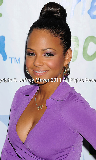 BEVERLY HILLS, CA - APRIL 17: Christina Milian  arrives at the Silver Rose Gala And Auction at Beverly Hills Hotel on April 17, 2011 in Beverly Hills, California.