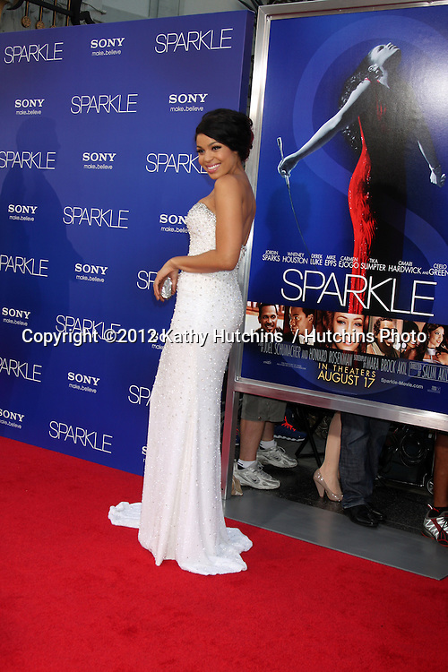 """Los Angeles - AUG 16:  Jordin Sparks arrives at the """"Sparkle""""  Premiere at Graumans Chinese Theater on August 16, 2012 in Los Angeles, CA"""
