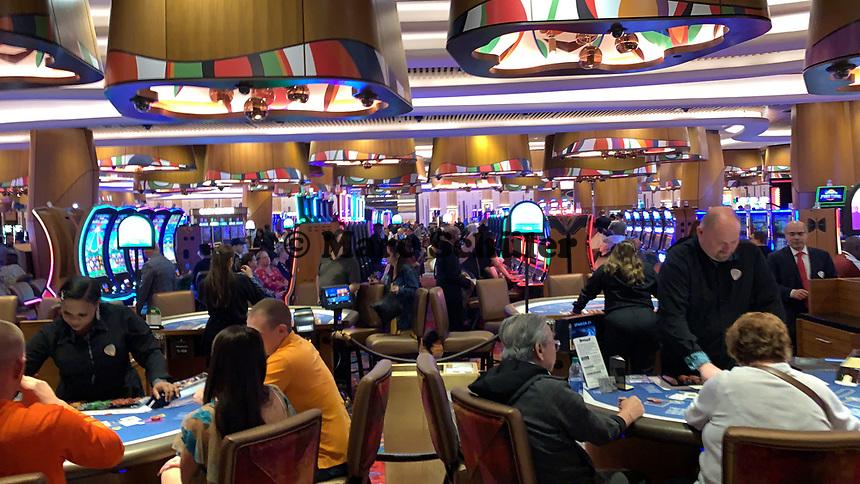 Casino am Gitarren-Hotel des Hard Rock Hotels - 24.01.2020: Hard Rock Hotel & Casino, Hollywood, FL