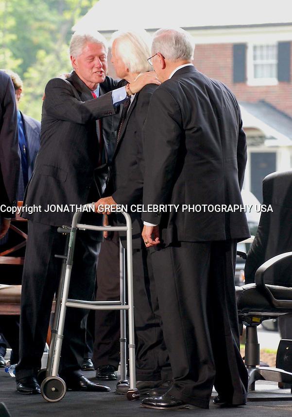 Billy Graham & Former President <br /> Bill Clinton By Jonathan Green