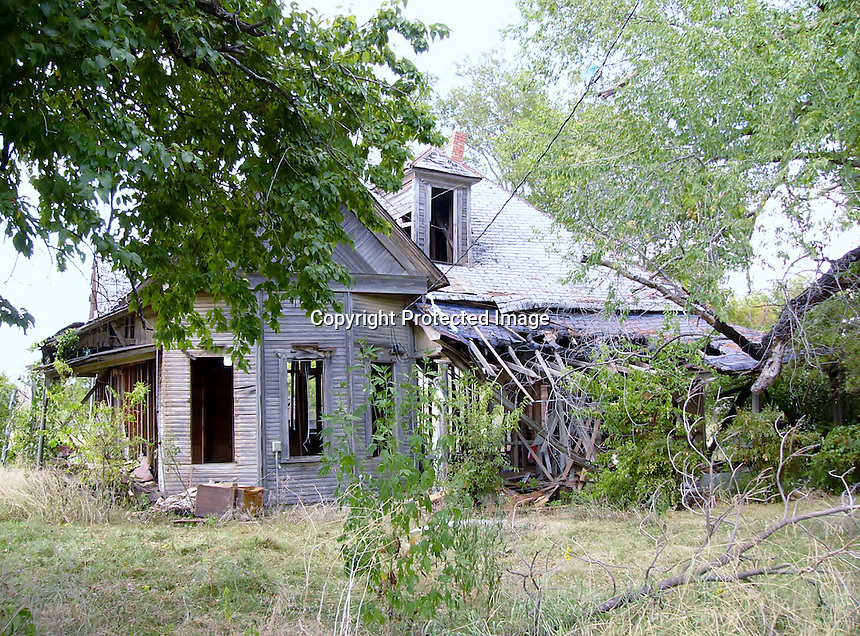Old Texas Ranch House