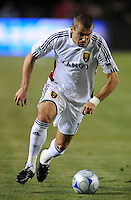 Real Salt Lake's (14) Yura Movsisyan during a game against Chivas USA in the first half at the Home Depot Center in Carson, CA on Saturday, May 9, 2009..