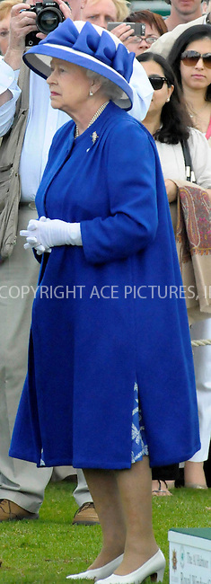 WWW.ACEPIXS.COM . . . . .  ..... . . . . US SALES ONLY . . . . .....June 21 2009, New York City....HRH Queen Elizabeth II at The Royal Windsor Cup Final held at the Guards Polo Club in Egham, Surrey - 21 June 2009..Please byline: FAMOUS-ACE PICTURES... . . . .  ....Ace Pictures, Inc:  ..tel: (212) 243 8787 or (646) 769 0430..e-mail: info@acepixs.com..web: http://www.acepixs.com