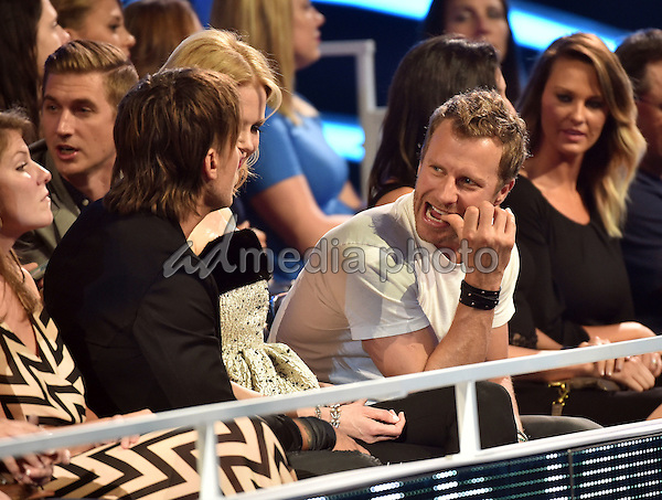 10 June 2015 - Nashville, Tennessee - Keith Urban, Nicole Kidman and Dierks Bentley. 2015 CMT Music Awards held at Bridgestone Arena. Photo Credit: Laura Farr/AdMedia