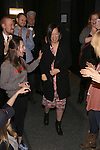 MaryAnn Hu with the cast during the Actors' Equity opening night Gypsy Robe Ceremony honoring  MaryAnn Hu for ''Sunday in the Park with George' at the Hudson Theatre on February 23, 2017 in New York City.