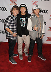 LOS ANGELES, CA - DECEMBER 06: Emblem3 arrives at the 'The X Factor' Viewing Party Sponsored By Sony X Headphones at Mixology101 & Planet Dailies on December 6, 2012 in Los Angeles, California.