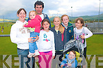 2419-2421.---------.Football crazy.--------------.Enjoying the GAA fun football final between The Grocers V The Enforcers at the Castlegregory Summer Festival last Saturday evening were L-R Fidelma&Ashling,John and Anna Maunsell,Caroline Maunsell,Kate Shannon,Kate O Neill and Darran Smith.