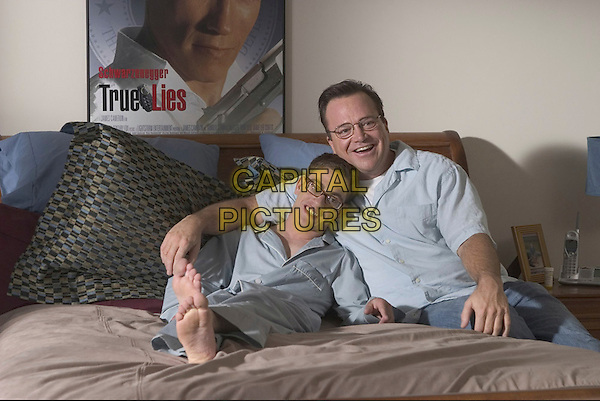 ERIC GORES & TOM ARNOLD.in The Kid & I.*Editorial Use Only*.www.capitalpictures.com.sales@capitalpictures.com.Supplied by Capital Pictures.