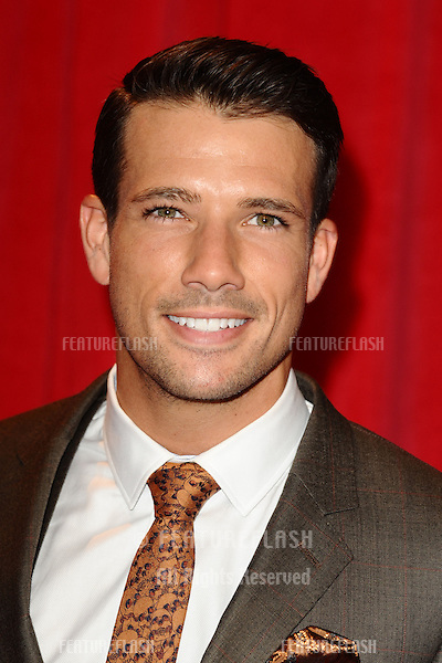 Danny Mac arriving for the 2014 British Soap Awards, at the Hackney Empire, London. 24/05/2014 Picture by: Steve Vas / Featureflash