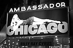 Theatre Marquee: Billy Ray Cyrus making his Broadway Debut Curtain Call  in 'Chicago' at the Ambassador Theatre in New York City on 11/05/2012