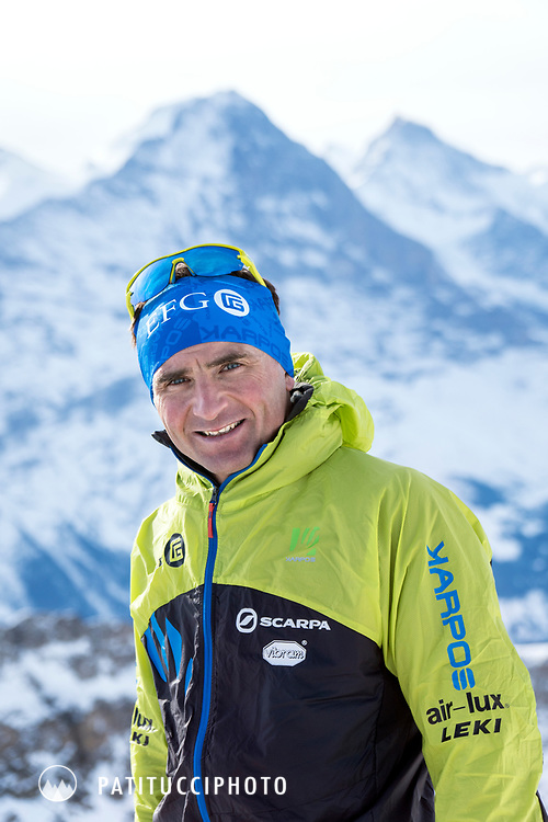Ueli Steck portrait, January 2017