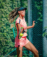 Hilversum, Netherlands, August 6, 2018, National Junior Championships, NJK, Bente Bierma (NED)<br /> Photo: Tennisimages/Henk Koster