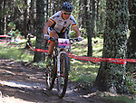 05.09.2015 La Massana Andorra. 201 UCI Mountain Bike World Champions.Picture show Spitz Sabine (GER) in action during women ELite Cross-country Olympic World Champions