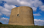 AE2CJ5 Martello tower at Shingle Street Suffolk England