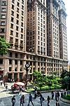 Edificio Martinelli e Praça Antonio Prado, Sao Paulo. 2018. Foto de Juca Martins.