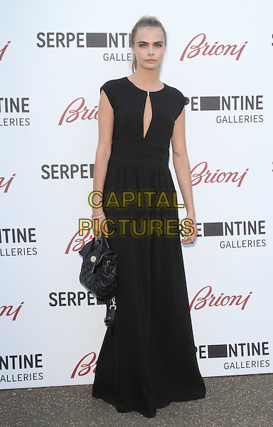 LONDON, UNITED KINGDOM - JULY 01: Cara Delevingne attends the annual Serpentine Gallery Summer Party at The Serpentine Gallery on July 1, 2014 in London, England<br /> CAP/ROS<br /> &copy;Steve Ross/Capital Pictures