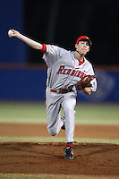 March 9, 2010:  Pitcher Ryan Copeland (22) of the Illinois State Redbirds during a game at McKethan Stadium in Gainesville, FL.  Photo By Mike Janes/Four Seam Images