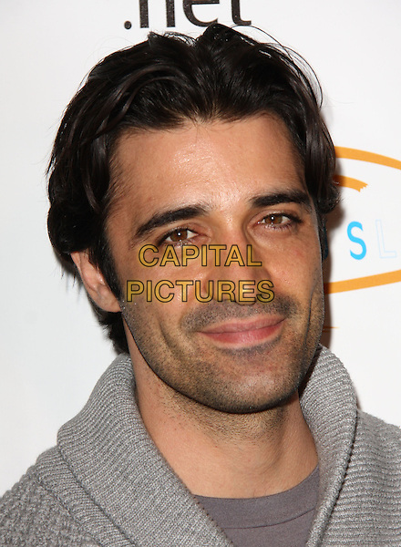 "GILLES MARINI. Lupus LA Raises Awareness with ""Get Lucky for Lupus"" held At Andaz Hotel, West Hollywood, California, USA..February 25th, 2010.headshot portrait grey gray stubble facial hair .CAP/ADM/KB.©Kevan Brooks/AdMedia/Capital Pictures."