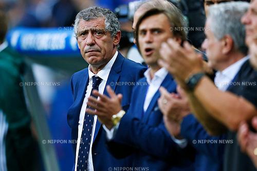 Fernando Santos (POR), JULY 10, 2016 - Football / Soccer : UEFA EURO 2016 Final match between Portugal 1-0 France at Stade de France in Saint-Denis, France. (Photo by D.Nakashima/AFLO)