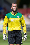 Aberdeen v St Johnstone...28.06.15  Glebe Park, Brechin..Pre-Season Friendly<br /> Alan Mannus<br /> Picture by Graeme Hart.<br /> Copyright Perthshire Picture Agency<br /> Tel: 01738 623350  Mobile: 07990 594431