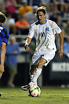 19 September 2014: North Carolina's Andy Craven. The Duke University Blue Devils hosted the University of North Carolina Tar Heels at Koskinen Stadium in Durham, North Carolina in a 2014 NCAA Division I Men's Soccer match. Duke won the game 2-1.