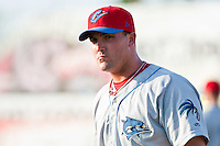 May 6 2010: Matthew Rizzotti (60) of the Clearwater Threshers during a game vs. the Daytona Cubs at Jackie Robinson Ballpark in Daytona Beach, Florida. Clearwater, the Florida State League High-A affiliate of the Philadelphia Phillies, won the game against Daytona, affiliate of the Chicago Cubs, by the score of 4-1.  Photo By Scott Jontes/Four Seam Images