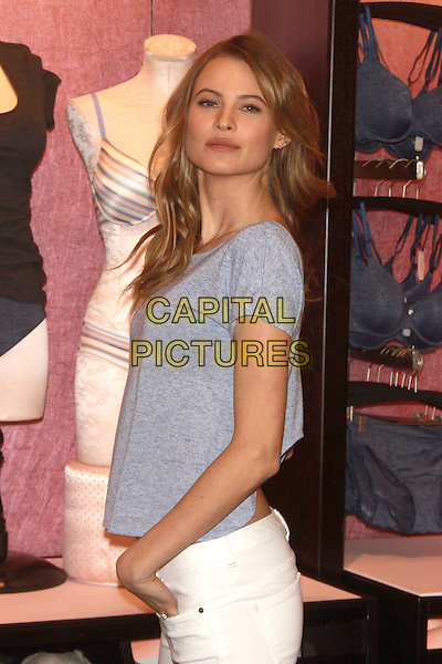 NEW YORK, NY - FEBRUARY 25: Victoria's Secret Angel Behati Prinsloo Launches Victoria's Secret's new T-Shirt Bra at Victoria&sbquo;??s Secret Herald Square on February 25, 2014  in New York City, NY., USA.<br /> CAP/MPI/RW<br /> &copy;RW/ MediaPunch/Capital Pictures