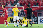 Jiangsu FC Midfielder Liu Jianye (L) gestures during the AFC Champions League 2017 Round of 16 match between Shanghai SIPG FC (CHN) vs Jiangsu FC (CHN) at the Shanghai Stadium on 24 May 2017 in Shanghai, China. Photo by Marcio Rodrigo Machado / Power Sport Images