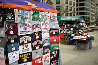 T-Shirt vendor Boston Common