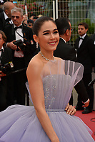 """CANNES, FRANCE. May 14, 2019: Araya Hargate at the gala premiere for """"The Dead Don't Die"""" at the Festival de Cannes.<br /> Picture: Paul Smith / Featureflash"""