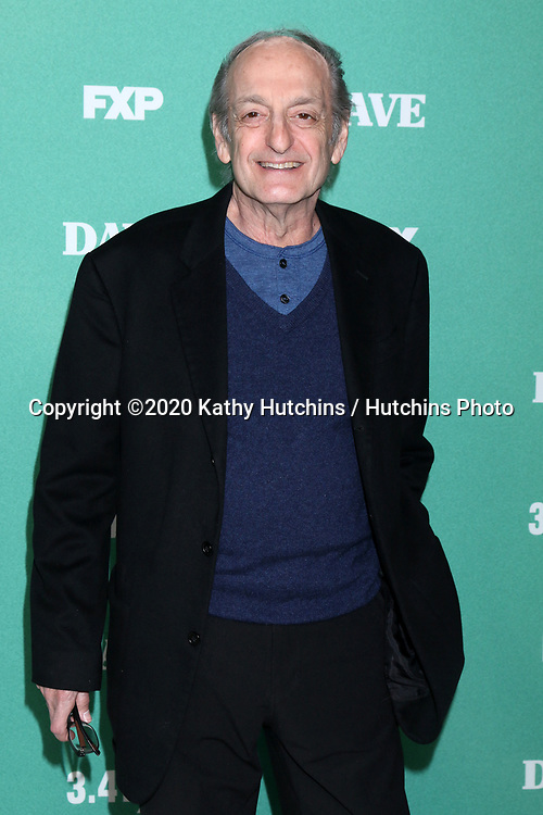 "LOS ANGELES - FEB 27:  David Paymer at the ""Dave"" Premiere Screening from FXX at the DGA Theater on February 27, 2020 in Los Angeles, CA"