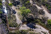 Aerial view of vegetation, trees, stream or river in the vicinity of the town of San Lorenzo and Sierra Chivato, municipality of Santa Cruz Sonora during the Madrean Discovery Expedition. GreaterGood.org<br /> (Photo: LuisGutierrez / NortePhoto)<br /> <br /> Vista aerea de vegetacion, arboles, arroyoo rio en las inmediaciones de pueblo de San Lorenzo y Sierra Chivato, municipio de Santa Cruz Sonora durate la Madrean Discovery Expedition. GreaterGood.org<br /> (Photo:LuisGutierrez/NortePhoto)
