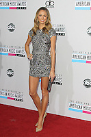 LOS ANGELES, CA - NOVEMBER 18: Stacy Keibler at the 40th American Music Awards held at Nokia Theatre L.A. Live on November 18, 2012 in Los Angeles, California. Credit: mpi20/MediaPunch Inc. NortePhoto