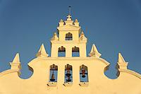 The belfry or compana of the Iglesia de Santiago church in Merida, Yucatan, Mexico