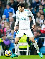 Real Madrid's Jesus Vallejo during La Liga match.December 09,2017. (ALTERPHOTOS/Acero)<br /> Liga Campionato Spagna 2017/2018<br /> Foto Alterphotos / Insidefoto <br /> ITALY ONLY