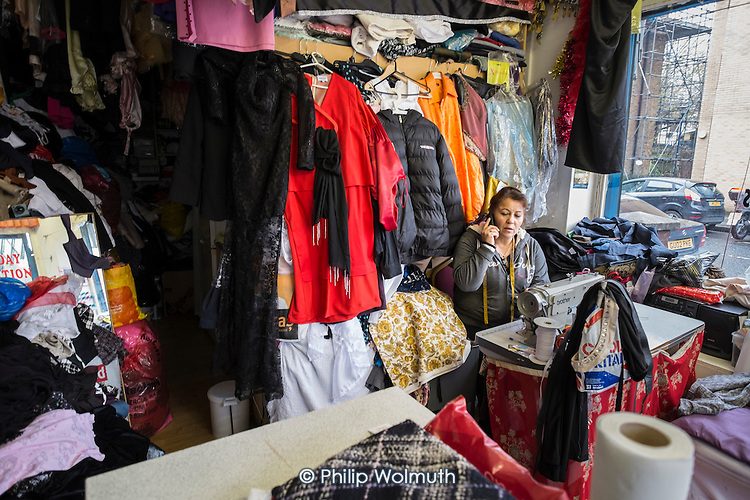 Elif Zarali has run her tailoring business from a shop on the New Era Estate for 12 years, but her lease will end in March 2015, following takeover of the estate in Hoxton, London, by US property company Westbrook Partners.