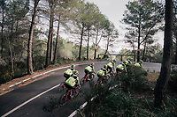 Team Trek-Segafredo men's team<br /> training camp<br /> Mallorca, january 2019<br /> <br /> ©kramon