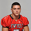 Chad Blaszky of Newfield poses for a portrait during Newsday's Top 100 Varsity Football Players photo shoot at company headquarters in Melville on Tuesday, Aug. 21, 2018.