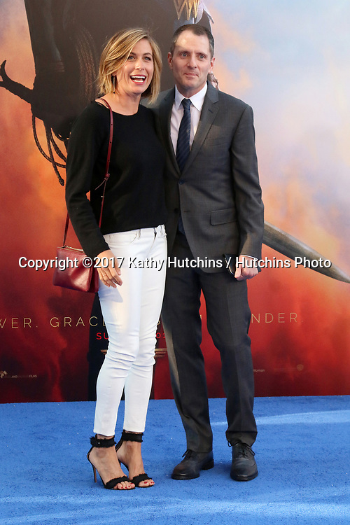 """LOS ANGELES - MAY 25:  Sonya Walger, Allan Heinberg at the """"Wonder Woman"""" Los Angeles Premiere at the Pantages Theater on May 25, 2017 in Los Angeles, CA"""