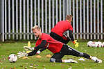 George Long of Sheffield Utd during the Sheffield Utd training session at the Shirebrook training complex, Sheffield. Picture date: 2nd September 2016. Picture Simon Bellis/Sportimage