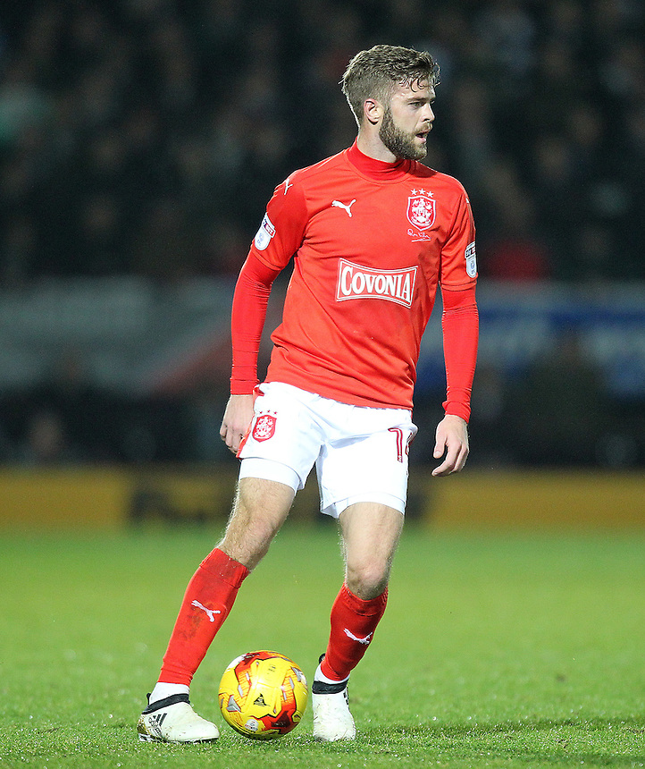 Huddersfield Town's Martin Cranie<br /> <br /> Photographer Mick Walker/CameraSport<br /> <br /> The EFL Sky Bet Championship - Burton Albion v Huddersfield Town - Tuesday 13th December 2016 - Pirelli Stadium - Burton upon Trent<br /> <br /> World Copyright &copy; 2016 CameraSport. All rights reserved. 43 Linden Ave. Countesthorpe. Leicester. England. LE8 5PG - Tel: +44 (0) 116 277 4147 - admin@camerasport.com - www.camerasport.com