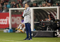 CARSON, CA - FEBRUARY 7: Vlatko Andonovski head coach of USA during a game between Mexico and USWNT at Dignity Health Sports Park on February 7, 2020 in Carson, California.